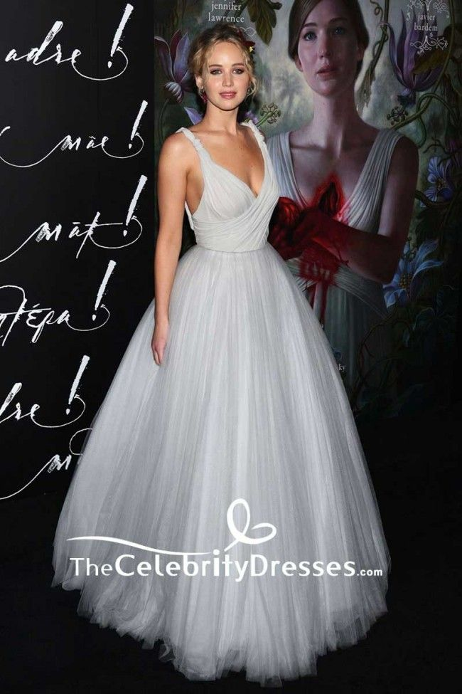 267b8976e14  JenniferLawrence Backless  Tulle  BallGown  Mother  New York Premiere 2017   RedCarpet