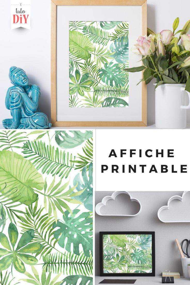 imprimer cette affiche gratuite tropical pour d corer votre int rieur. Black Bedroom Furniture Sets. Home Design Ideas