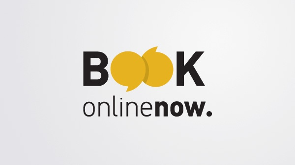 Book Online Now by Vivian Dimitriadi, via Behance