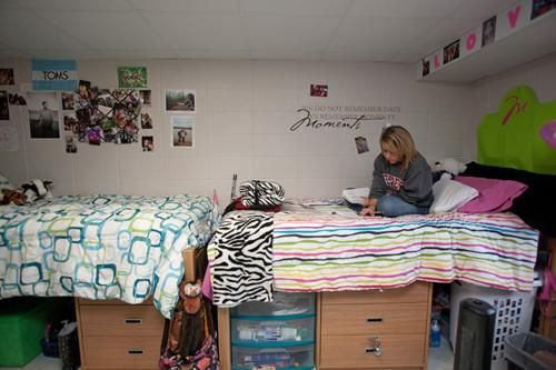 Pearce Ford Tower Dorm Room