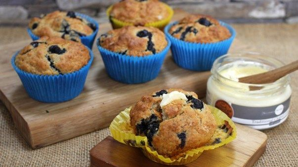 Pin On Blueberry And Buttermilk Muffins