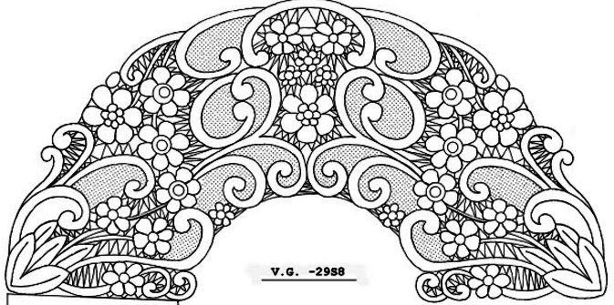 richelieu lace patterns - Google Search