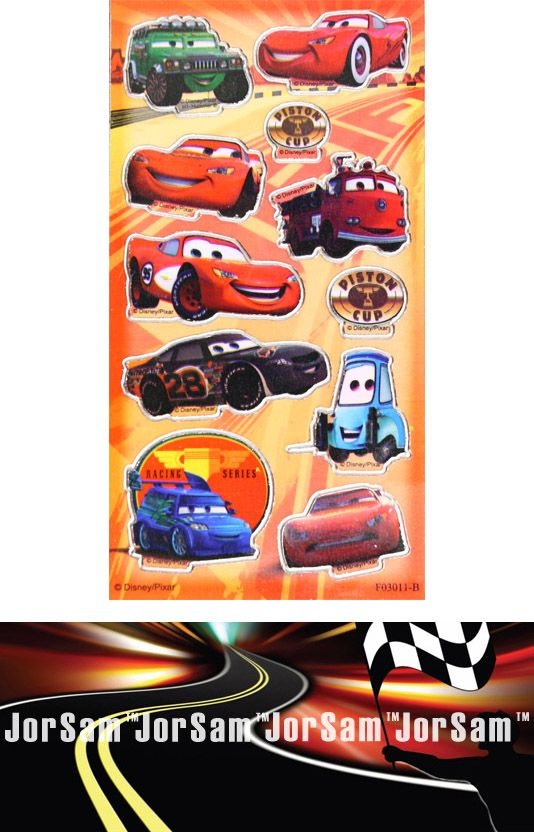 Cars D.I.Y. licensed sticker money box