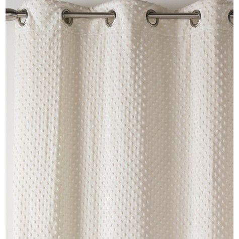 rideau polaire douceur cru cocooning rideaux linge. Black Bedroom Furniture Sets. Home Design Ideas