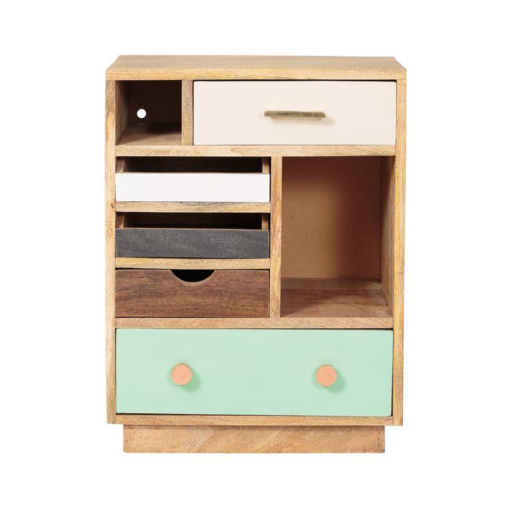Buy Halle Wooden Bedside Cabinet - Left from Oliver Bonas