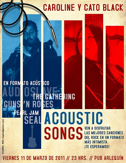 Acoustic Poster.