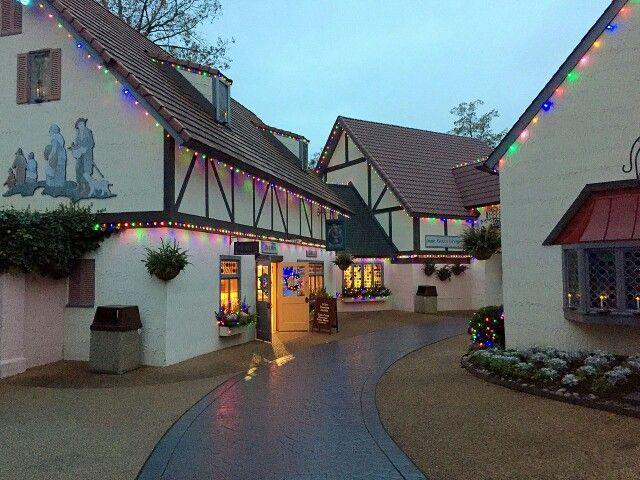Busch Gardens Williamsburg Germany At Christmas Busch