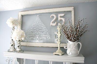 Christmas decor, Christmas vinyl