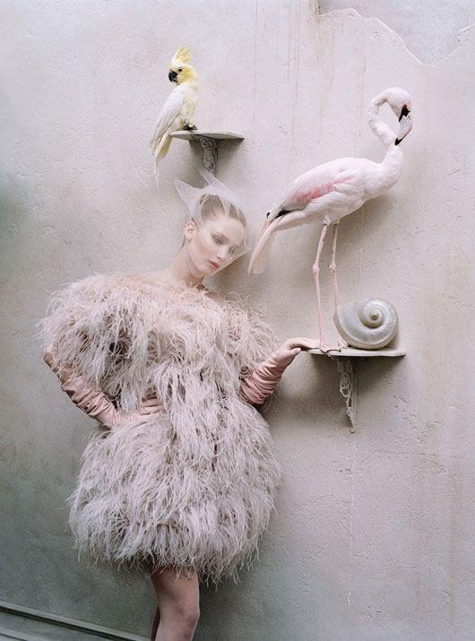 Jennifer Lawrence photographed by Tim Walker for W Magazine