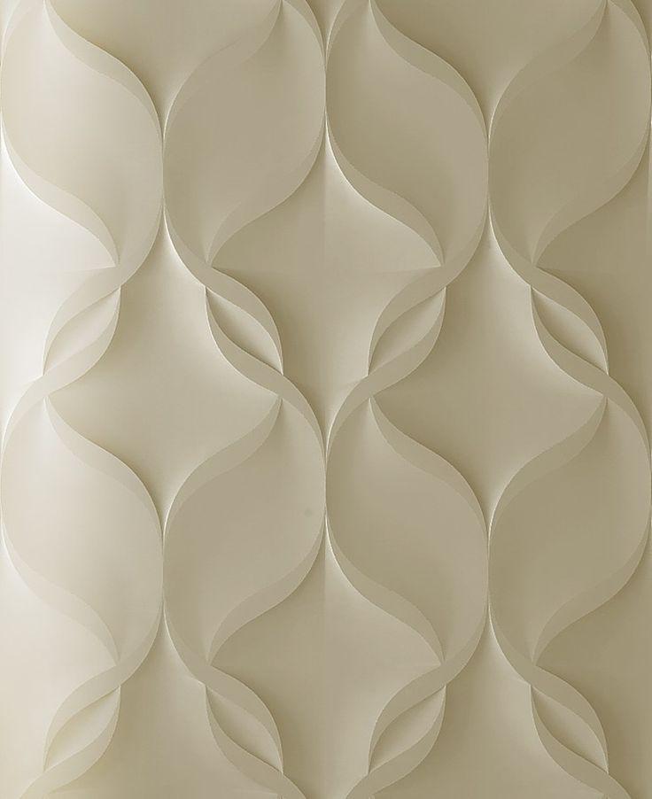 Pannello con effetti tridimensionali modulare per interni/esterni NASTRI - 3D Surface