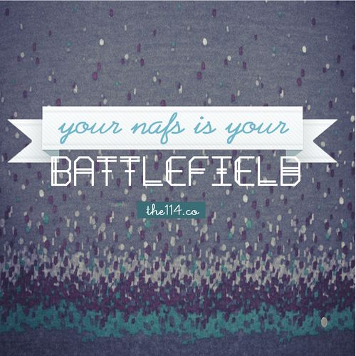 The Battlefield is in your own soul