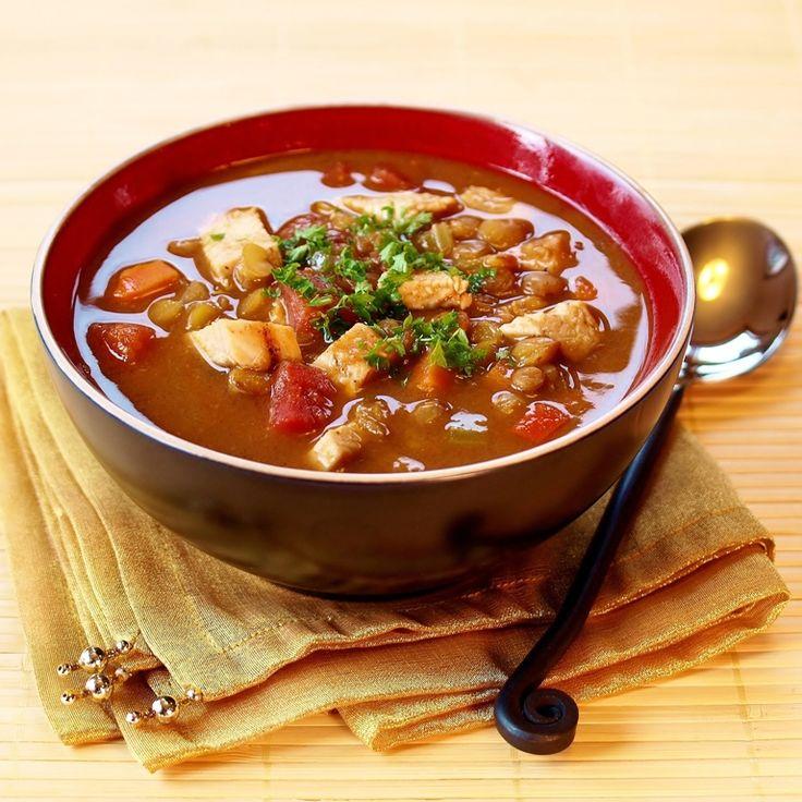 Chicken Lentil Soup | Recipe-Soup | Pinterest