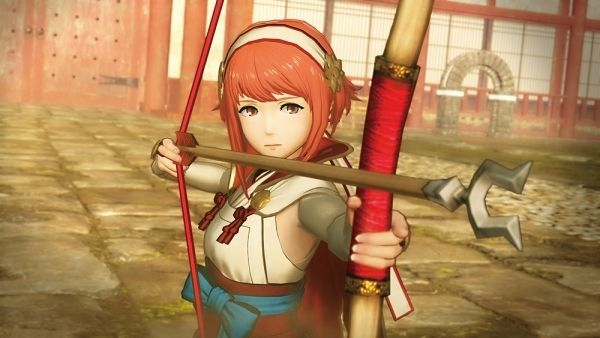 """Fire Emblem Warriors - more screens/art info on Corrin Elise Emblems and Forging   More screens and art here (check out the sections labeled """"New""""   Characters  Corrin (Male) (voiced by Nobunaga Shimazaki)  A young man who was brought up in Nohr while being of Hoshido blood. He has the power of a dragon hidden within him and fights using a sword called Yato as well as possesses the special trait of turning into a dragon to attack. His attack motions and abilities are the same as Corrin…"""