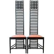 Charles Rennie Mackintosh chairs
