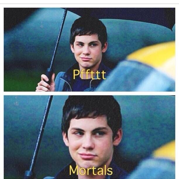 Funny only Percy Jackson Fans would understand and find that funny