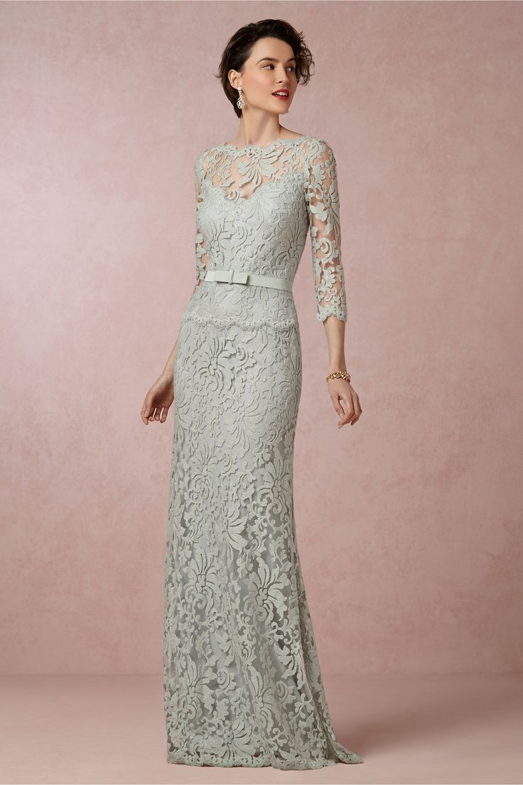 Clarisse Dress in ice from BHLDN