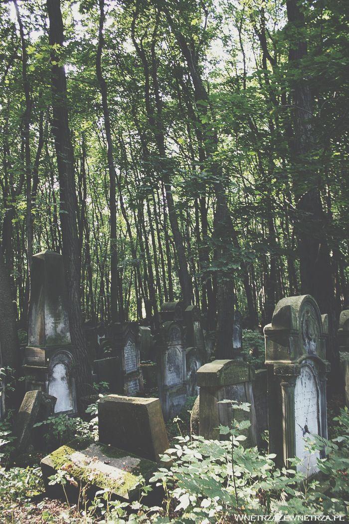 Wnętrza Zewnętrza: Groby inne od wszystkich  Cmentarz Żydowski w Warszawie