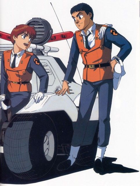 Masami Yuki, Madhouse, Patlabor: The Mobile Police, Noa Izumi, Asuma Shinohara