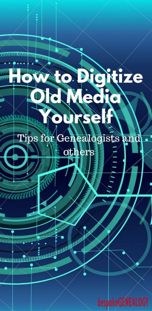 How to Digitize Old Media Yourself-min