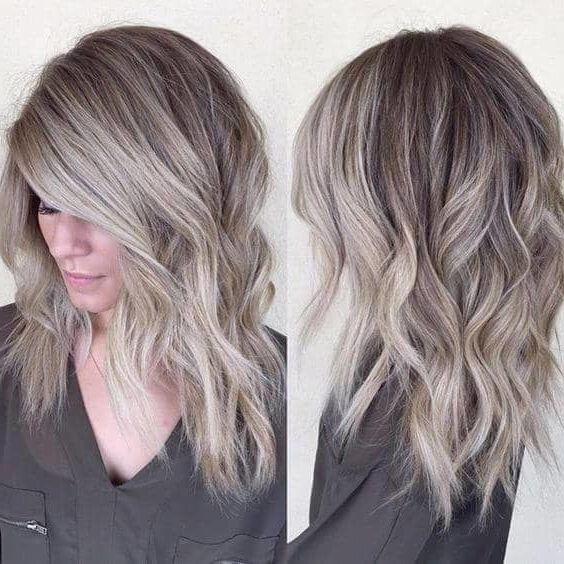 Hair Color Ideas 2019 Ash 50 Ash Blonde Hair Color Ideas 2019   Grey Silver color   Colored