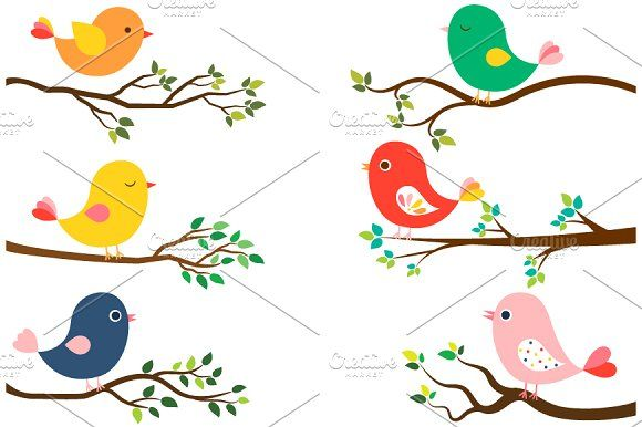 Cute Birds And Tree Branches Clipart Colorful Leaves Cute Birds Cartoon Trees 99,000+ vectors, stock photos & psd files. cute birds and tree branches clipart