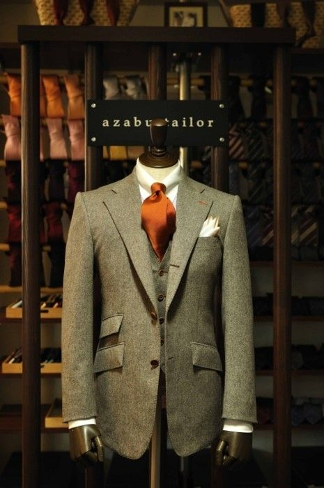 Ticket pocket?  Yes & always.     tailored