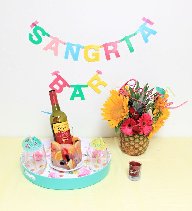 Entertaining Tips For A Sangria Party! by @Abubblylife