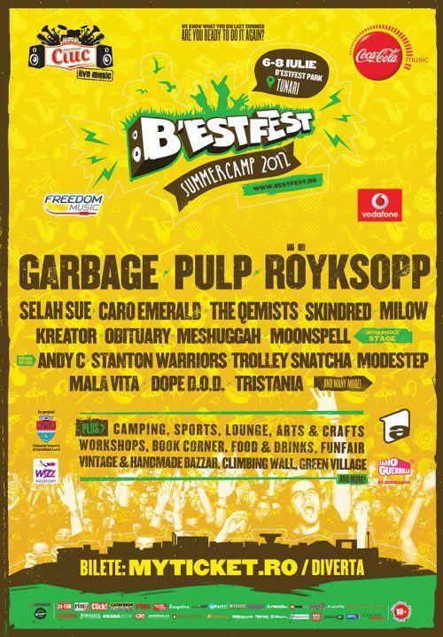 Concurs! Castiga 3 abonamente duble la B'Estfest Summer Camp 2012!