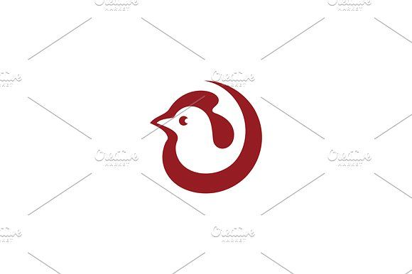 Cock Templates Unusual Logo template isolated on a white backgroundVector files, fully editable. Includes AI CS by Steinar Logo
