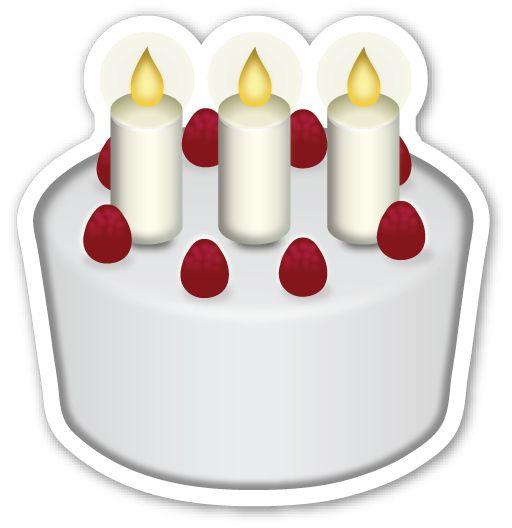 Birthday Cake Text Emoji