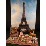 Paris miniatures by CDHM Artisan Monica Cado Shellabarger, www.cdhm.org/user/monica33