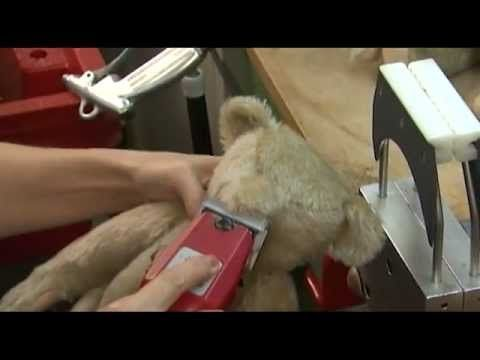 Video: Watch Steiff Puppets and Animals being made. It's in German, but still fascinating to watch.