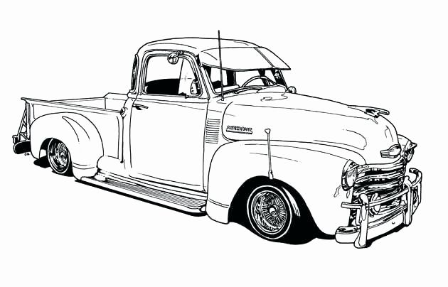 Pickup Trucks Coloring Pages