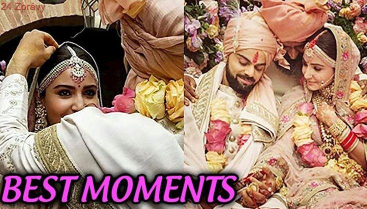 Anushka Sharma Virat Kohli BEST MOMENTS from Wedding