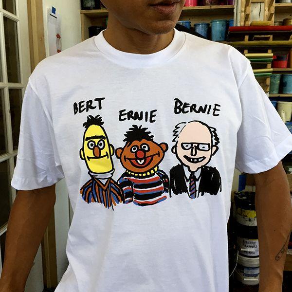 Bert Ernie Bernie Shirt |  KAYROCK