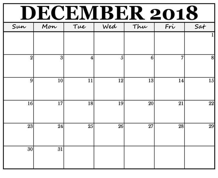 Dec 2018 Calendar UK December 2018 Calendar UK Pinterest