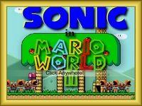 Лабиринты и препятствия в мире Марио снова ждут ёжика Соника.