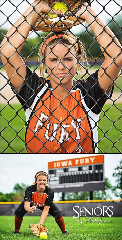 Fury: Softball senior picture ideas for outfielders. #softballseniorpictureideas #softballseniorpictures #seniorsbyphotojeania