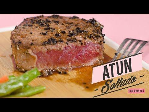 CÓMO HACER ATÚN SELLADO CON AJONJOLÍ (¡SÚPER FÁCIL!)| Recién Cocinados - YouTube