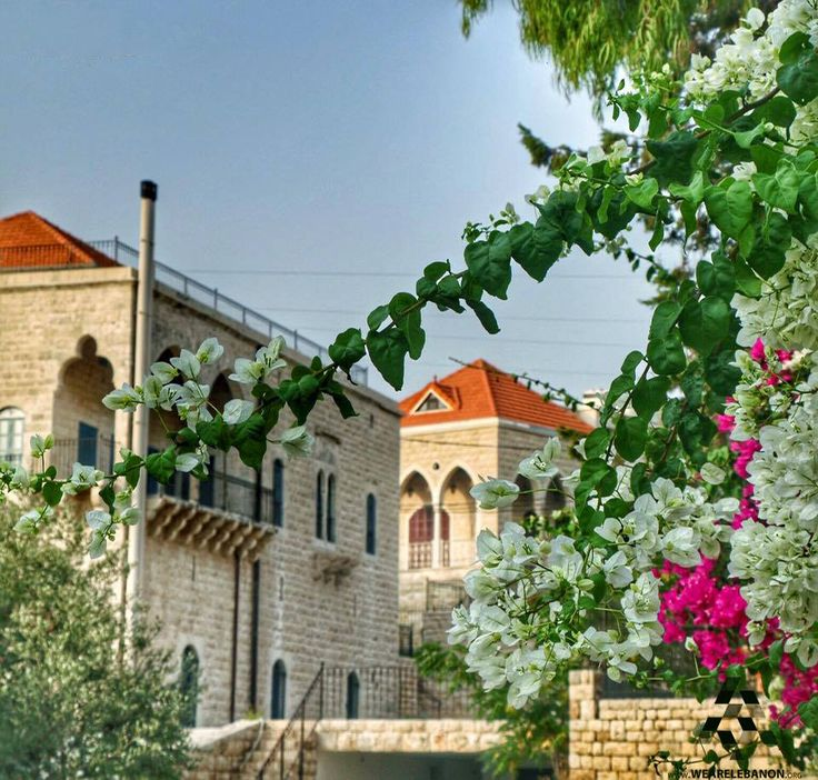 Beautiful traditional houses in amchit by bassem yassine for Modern house lebanon