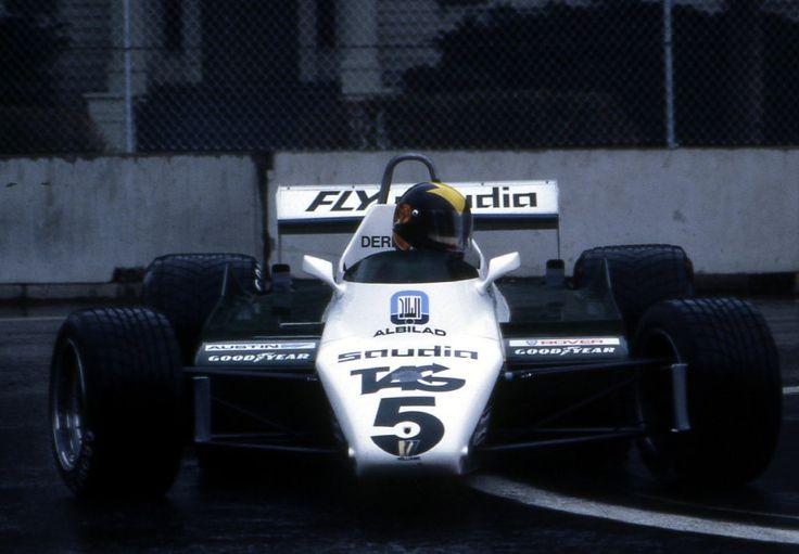 Derek Daly, Wet Practice in the Williams FW08, 1982 Detroit Grand Prix