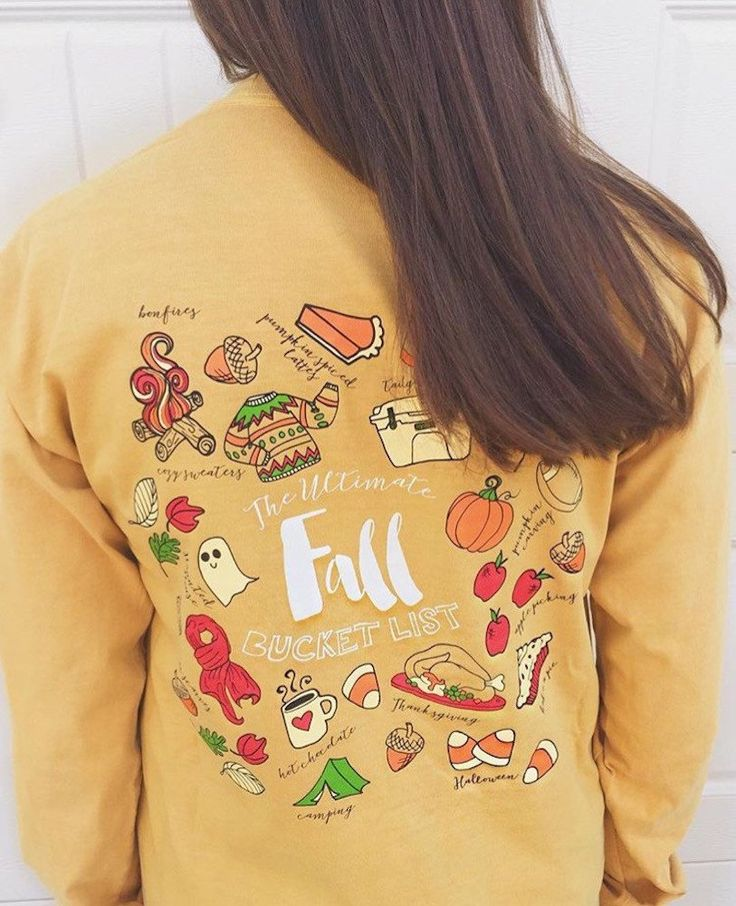 The ULTIMATE Fall Bucket List. We want Fall 2016 to be your BEST Fall Ever!