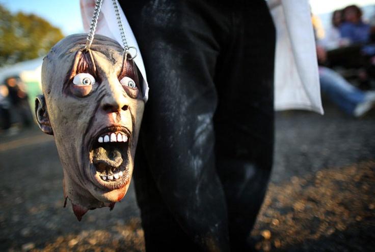 Zombie festival in the UK