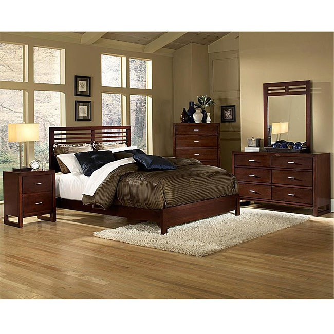 limited supply click image above queen size bedroom set slat design bed in cherry