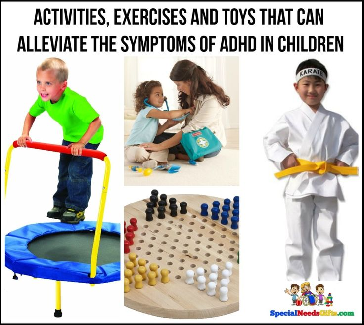6 Activities, Exercises and Toys that Can Alleviate the Symptoms of ADHD from http://www.specialneedsgifts.com.