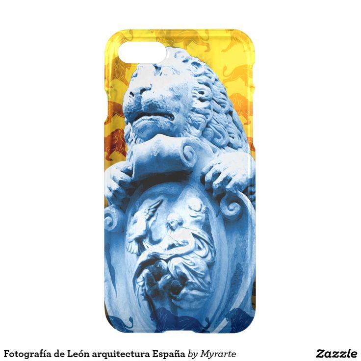 Fotografía de León arquitectura España. Producto disponible en tienda Zazzle. Tecnología. Product available in Zazzle store. Technology. Regalos, Gifts. Link to product: http://www.zazzle.com/fotografia_de_leon_arquitectura_espana_iphone_7_case-256326604874858565?CMPN=shareicon&lang=en&social=true&rf=238167879144476949 #carcasas #cases #león #lion