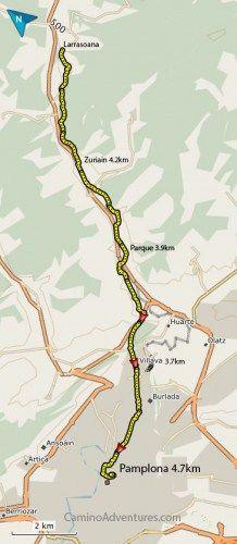 Pamplona - Wikipedia  Best İdeas Spanish Walking Maps