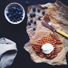 Vanløse blues.....: Chia vaffel - sund morgenmadsvaffel
