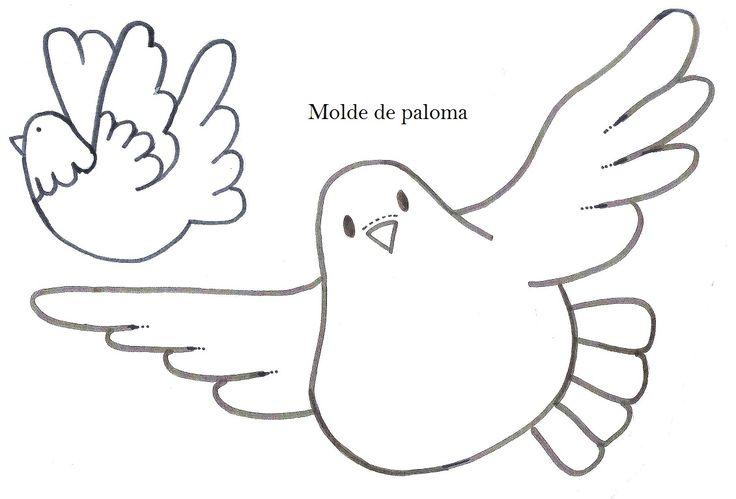 moldes palomas