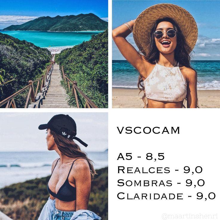 Edição Praia - VSCO